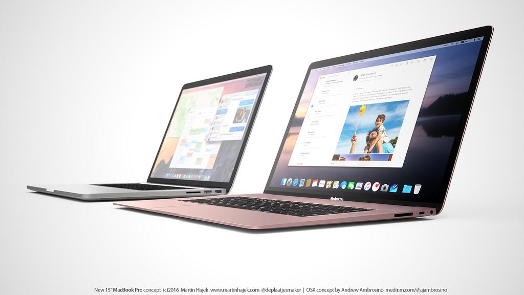MacBook Pro 2016 montage