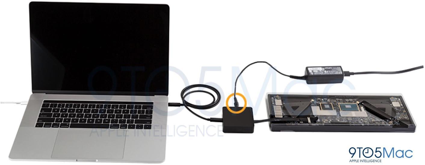 MacBook Pro 2016 SSD transfert données