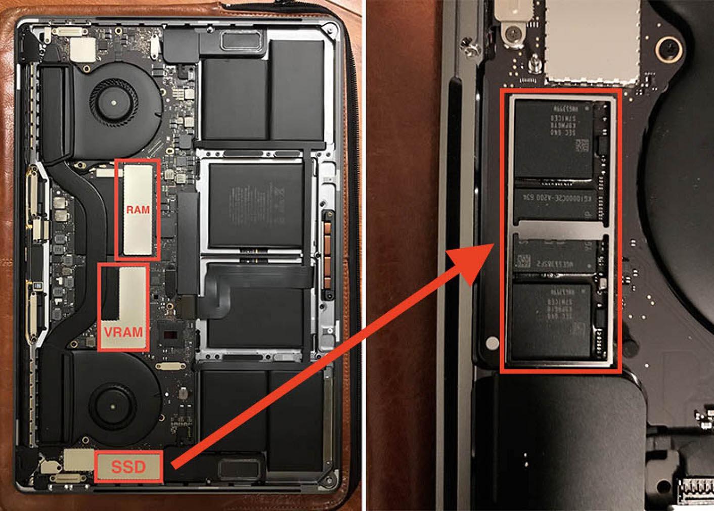 MacBook Pro 2016 SSD