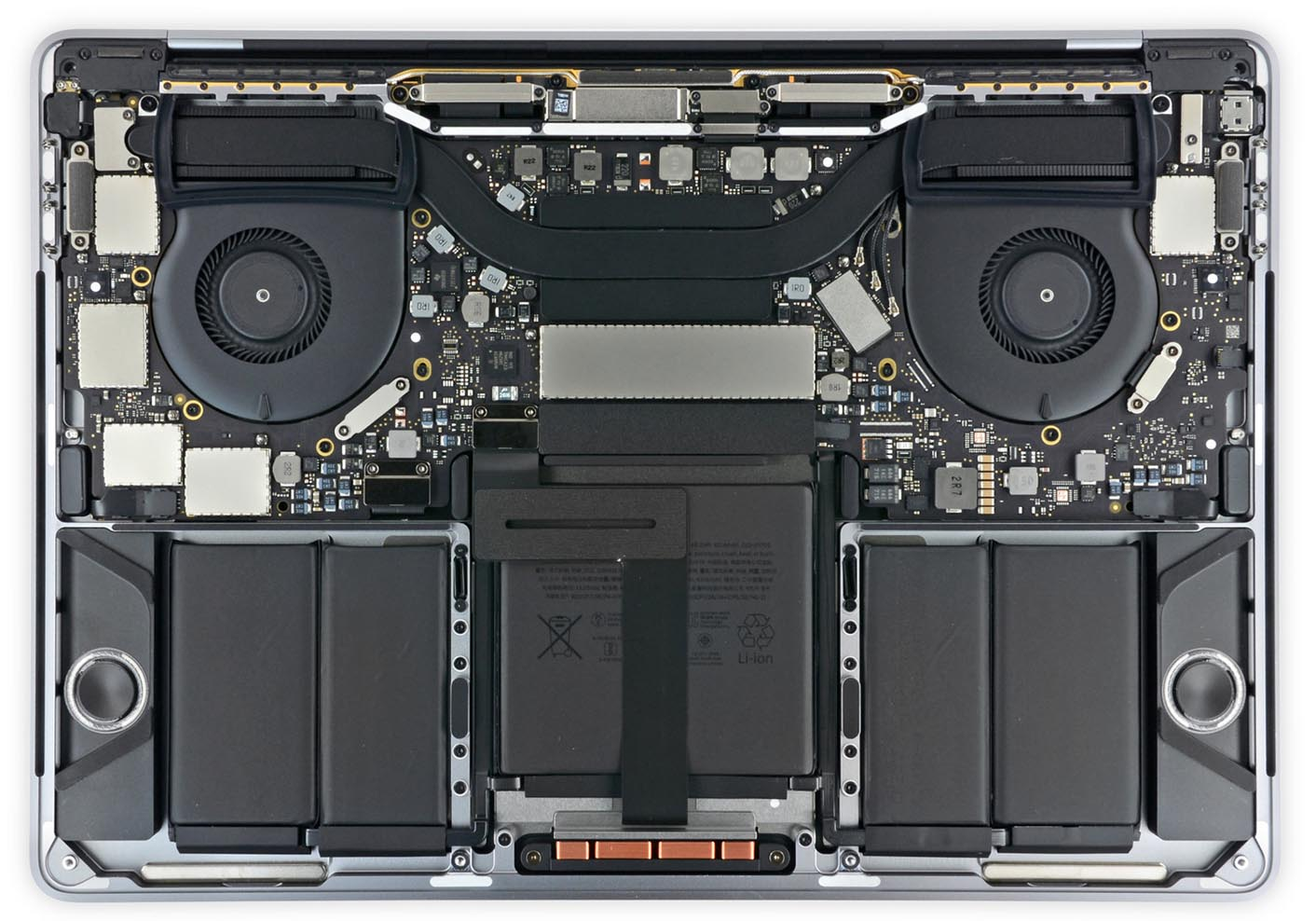 MacBook Pro 2017 iFixit