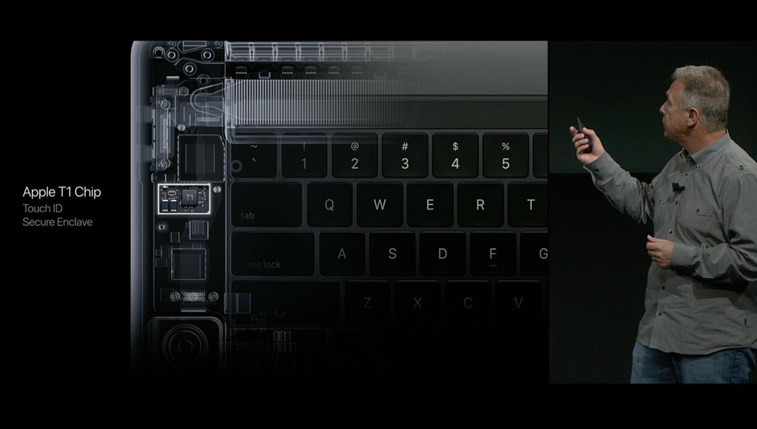 MacBook Pro Apple T1