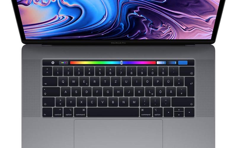 Un MacBook Pro 15,4'' avec 512 Go à 2 672,99 €