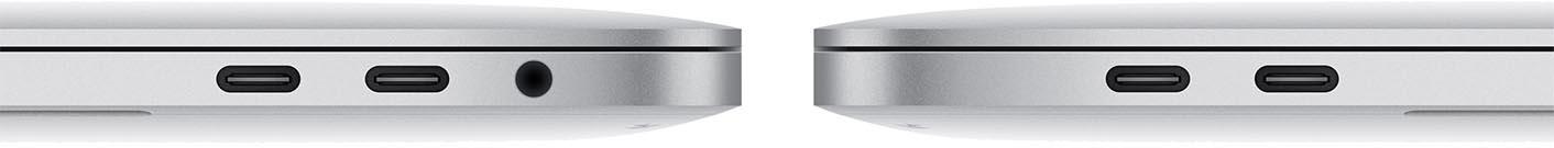 MacBook Pro 2016 connectique