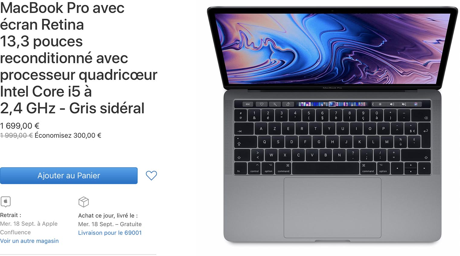MacBook Pro Refurb Store