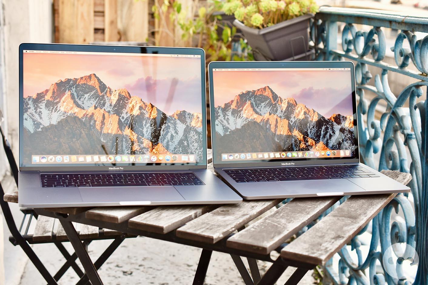 MacBook Pro Touch Bar test