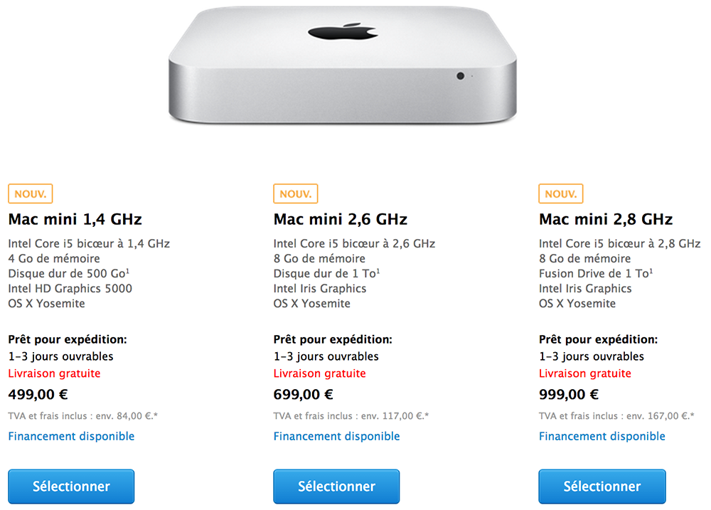news  apple presente le mac mini