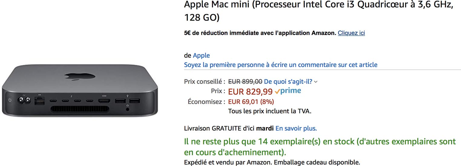 Mac mini Amazon