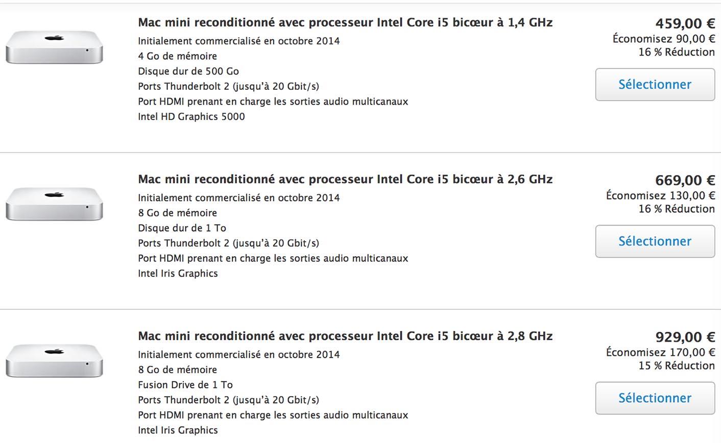 Mac mini Refurb