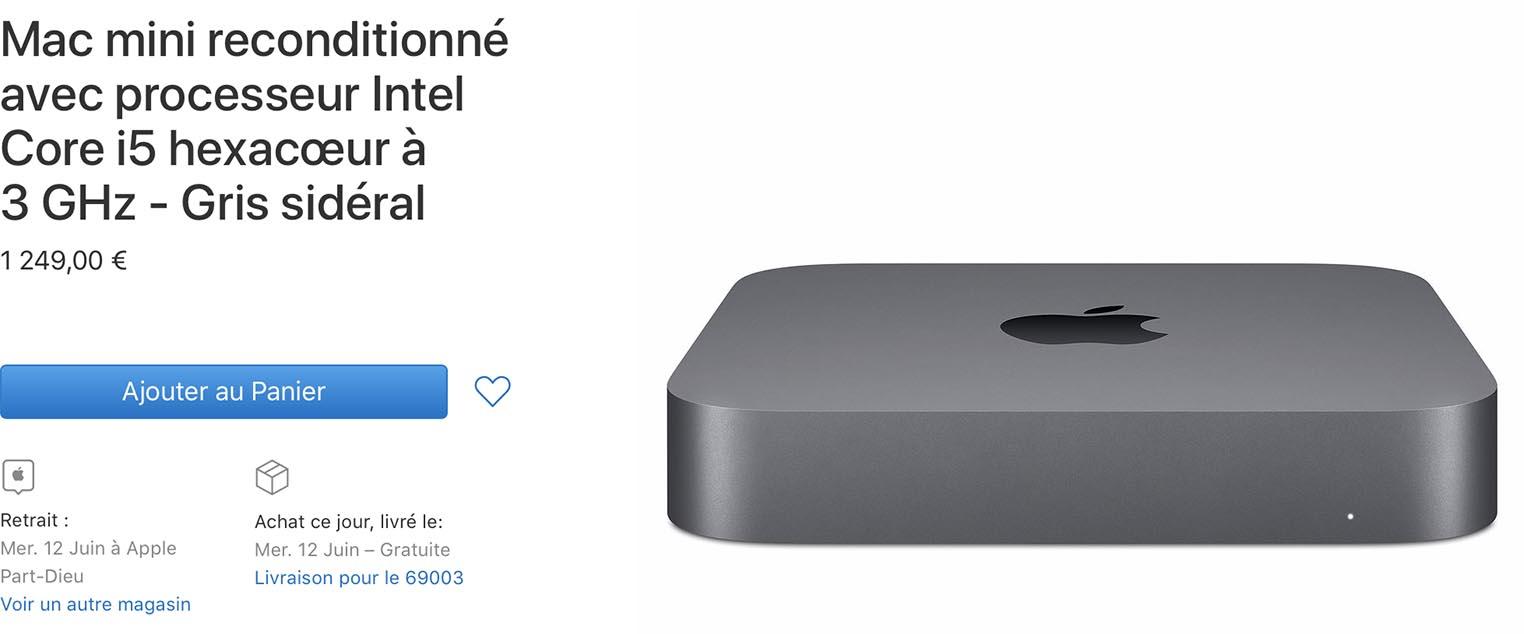 Mac mini Refurb Store