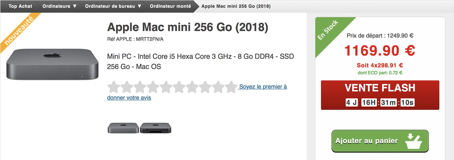 Mac mini Top Achat