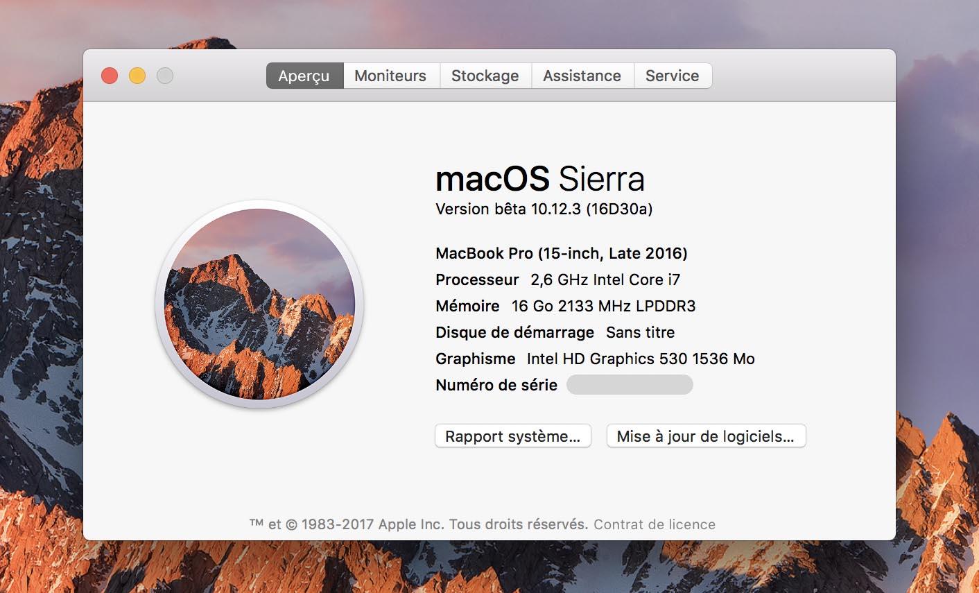 macOS 10.12.3 Beta 4