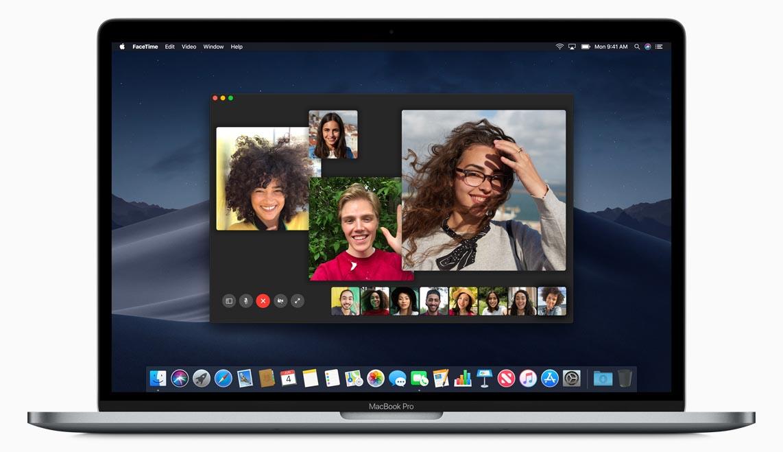 macOS 10.14 FaceTime