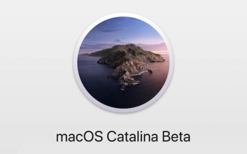 Première version bêta pour macOS 10.15.6 Catalina