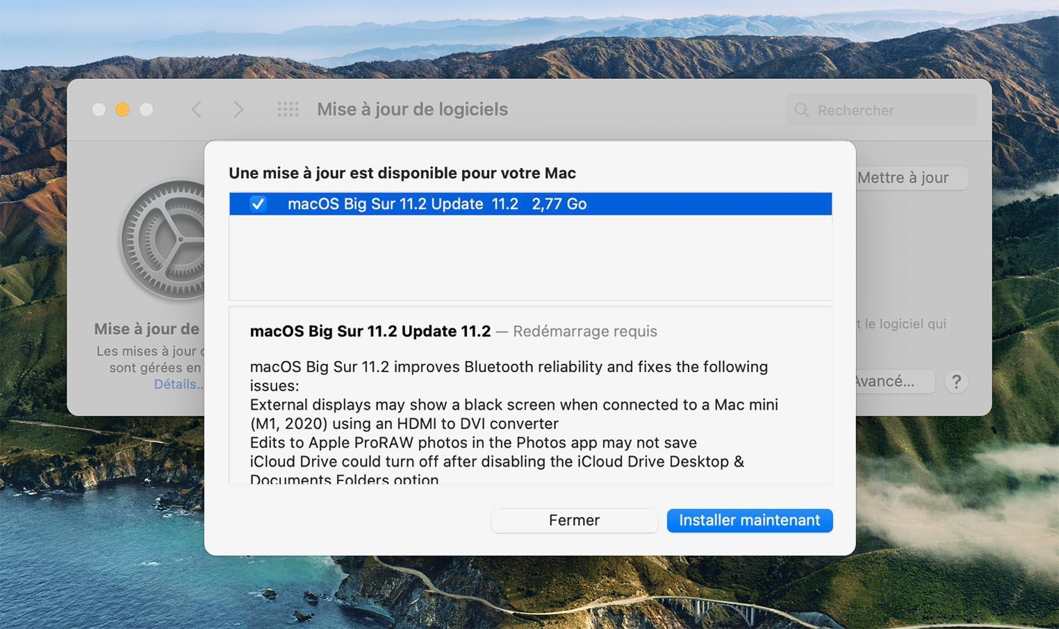 macOS 11.2