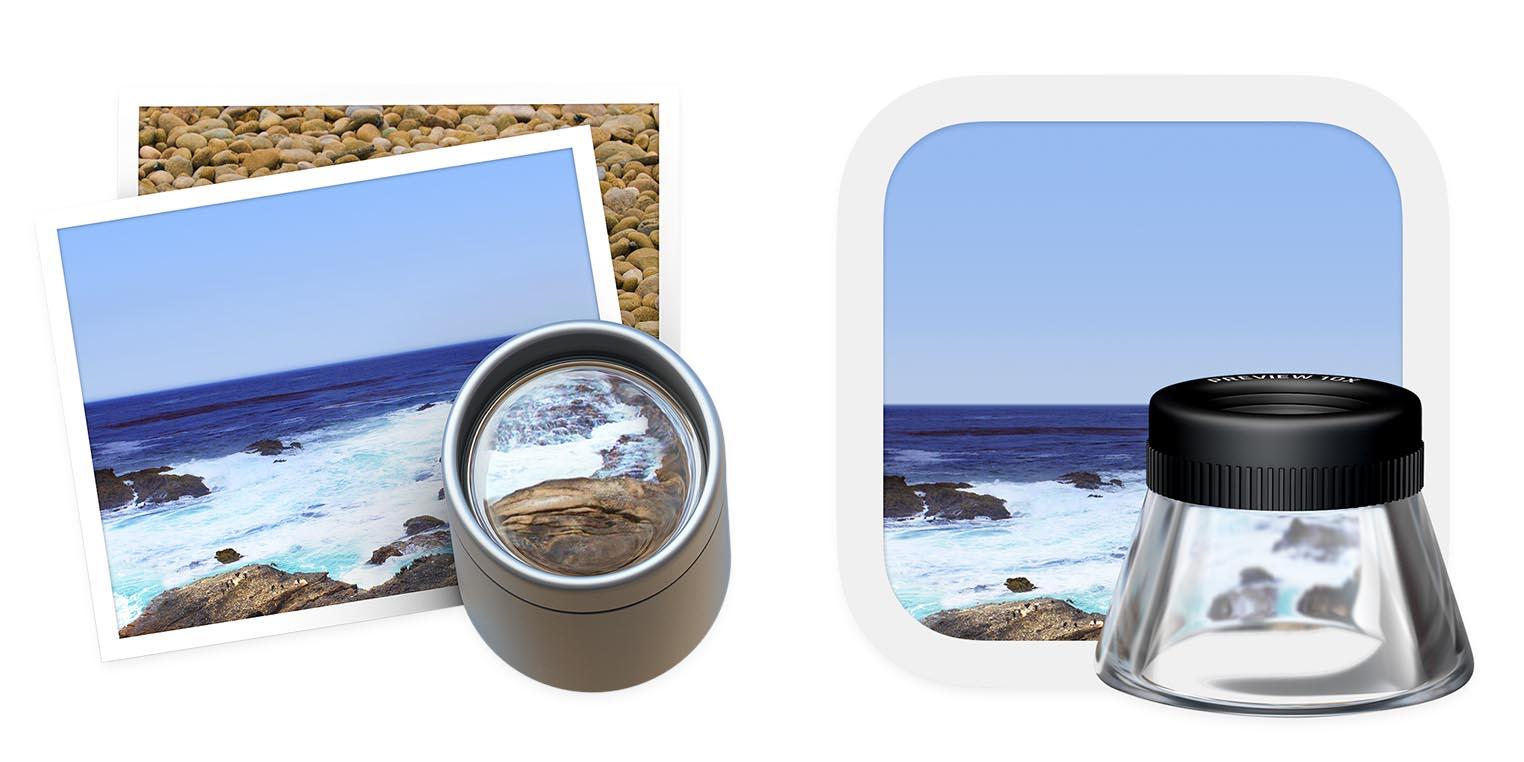 macOS Big Sur icône Aperçu