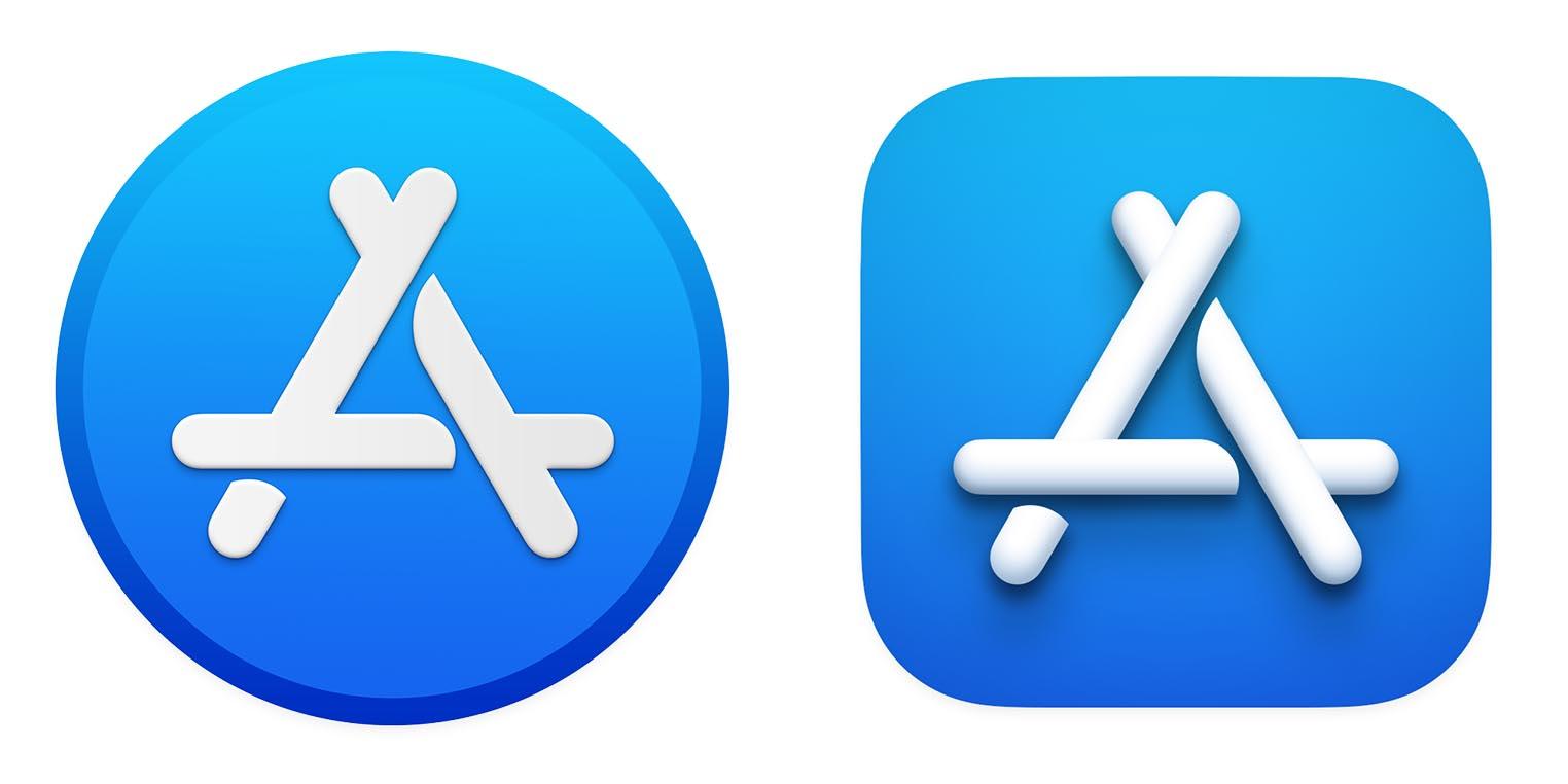 macOS Big Sur icône App Store