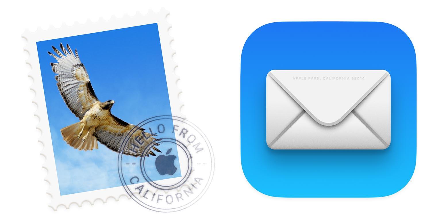 macOS Big Sur icône Mail