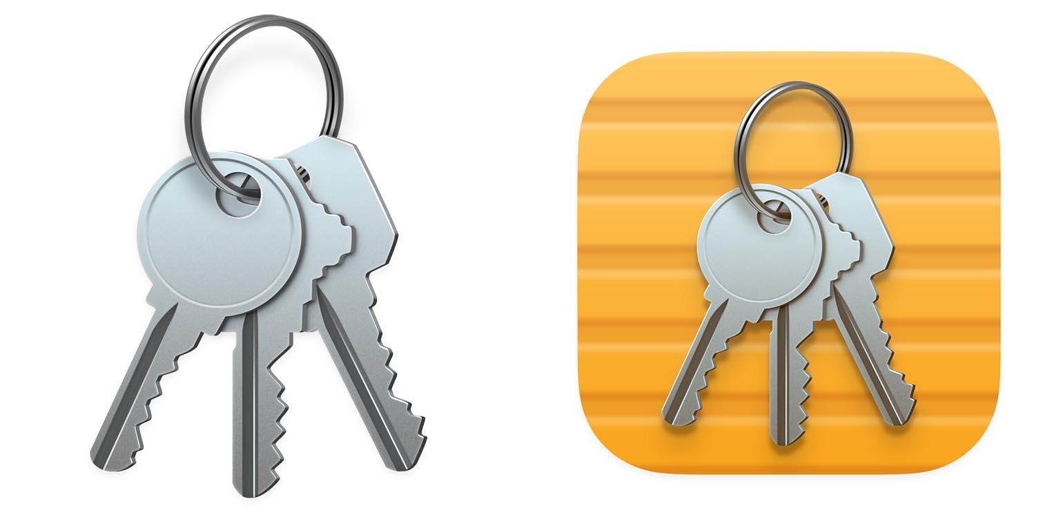 macOS Big Sur icône Trousseau d'accès