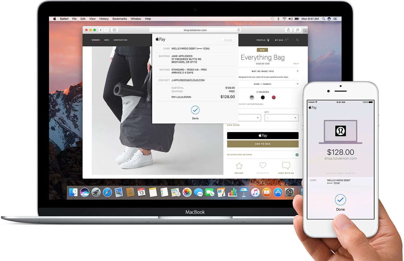 Apple Pay macOS Sierra
