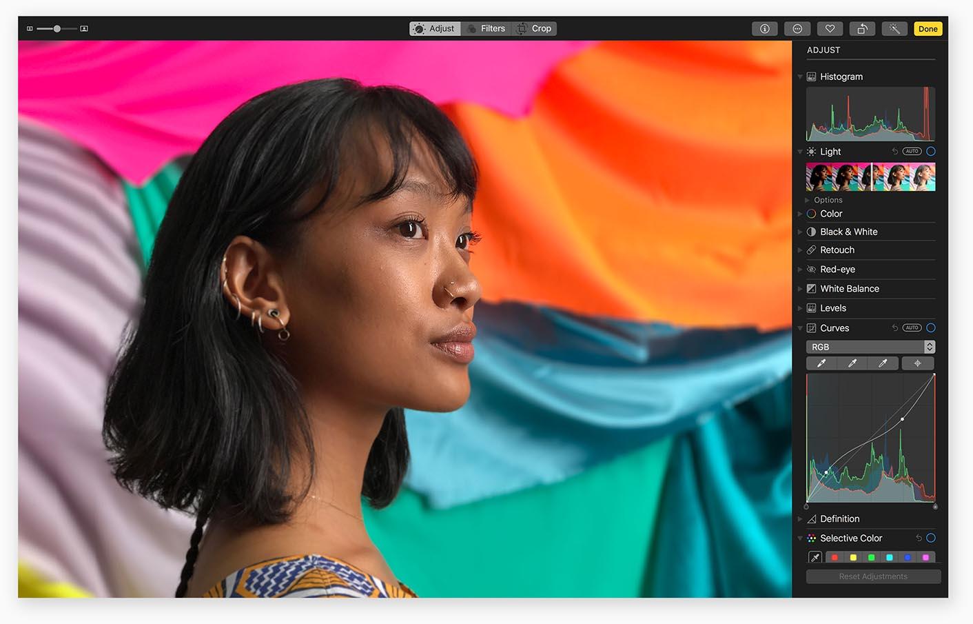 éditer plusieurs photo avec pixelmator