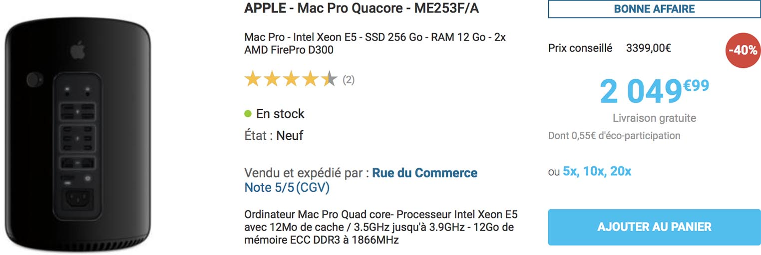 Mac Pro Rue du Commerce