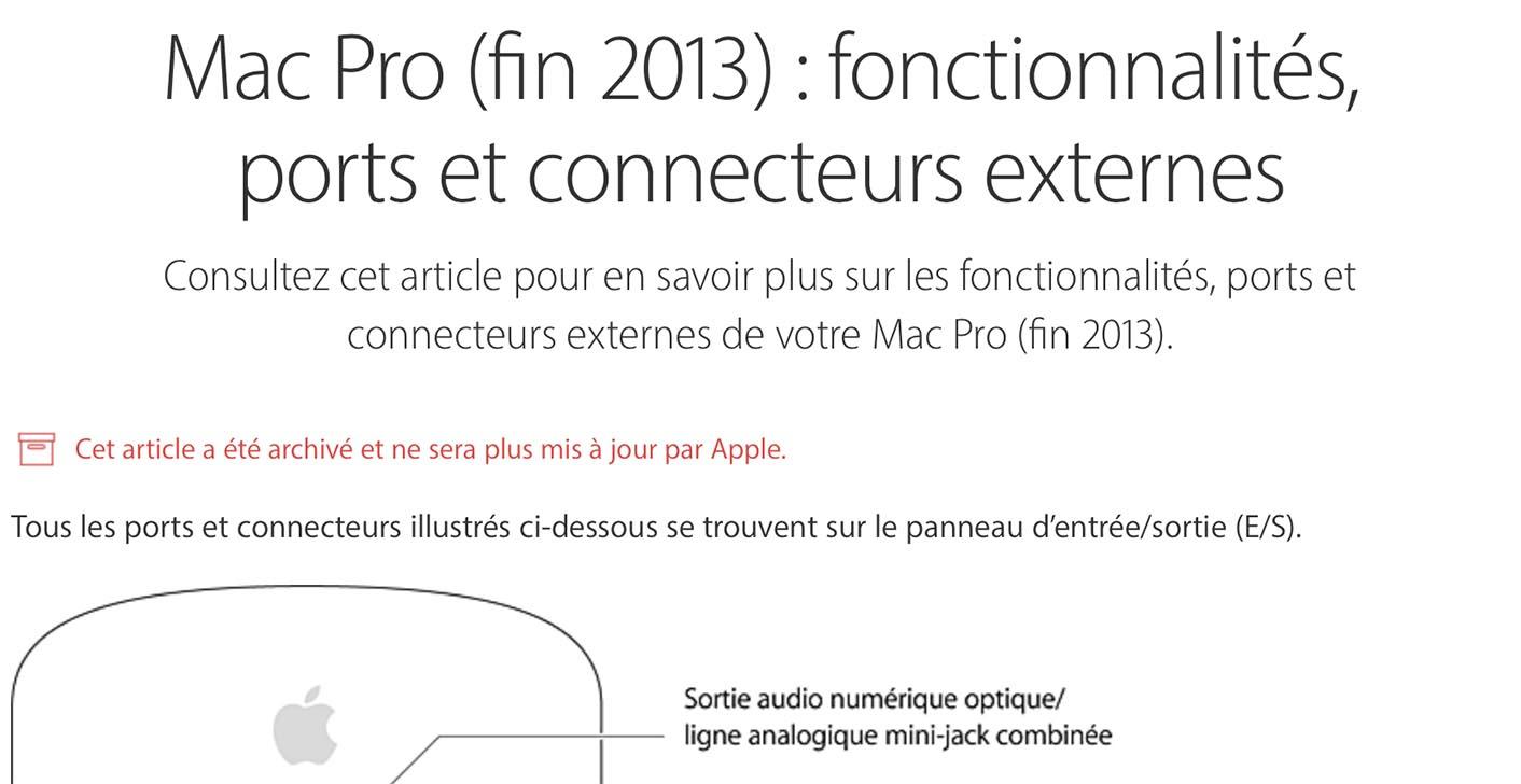 Mac Pro archive