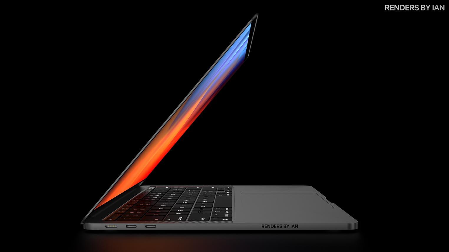 MacBook Pro M1X concept