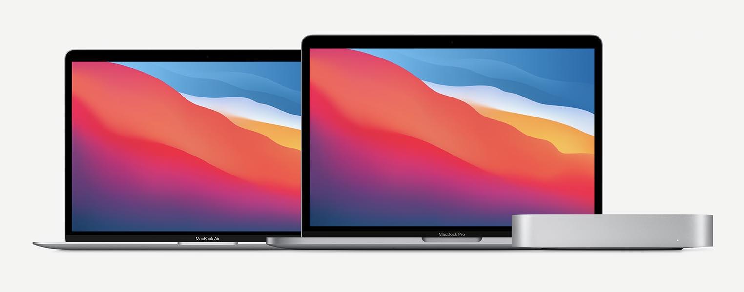 Apple M1 MacBook Air MacBook Pro Mac mini