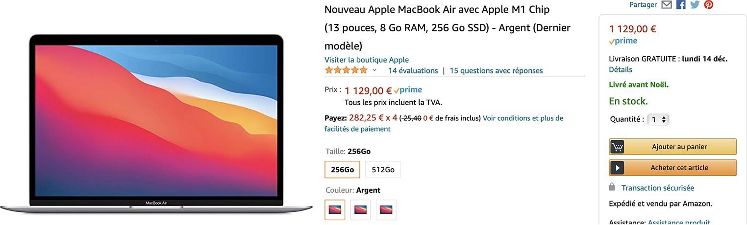 MacBook Air M1 Amazon