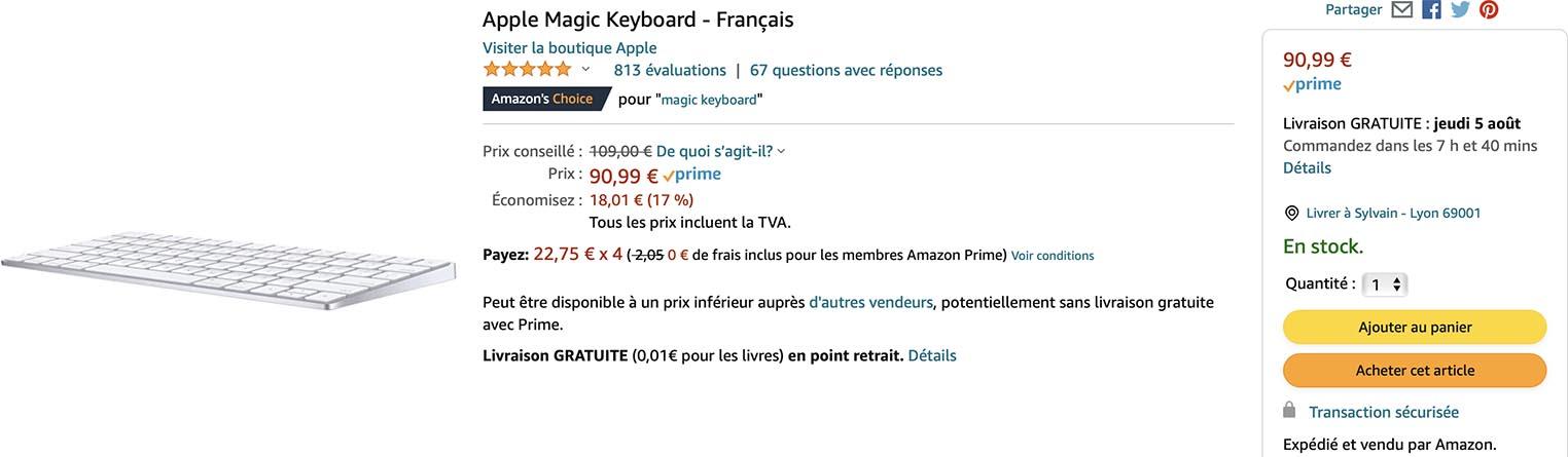 Magic Keyboard Amazon
