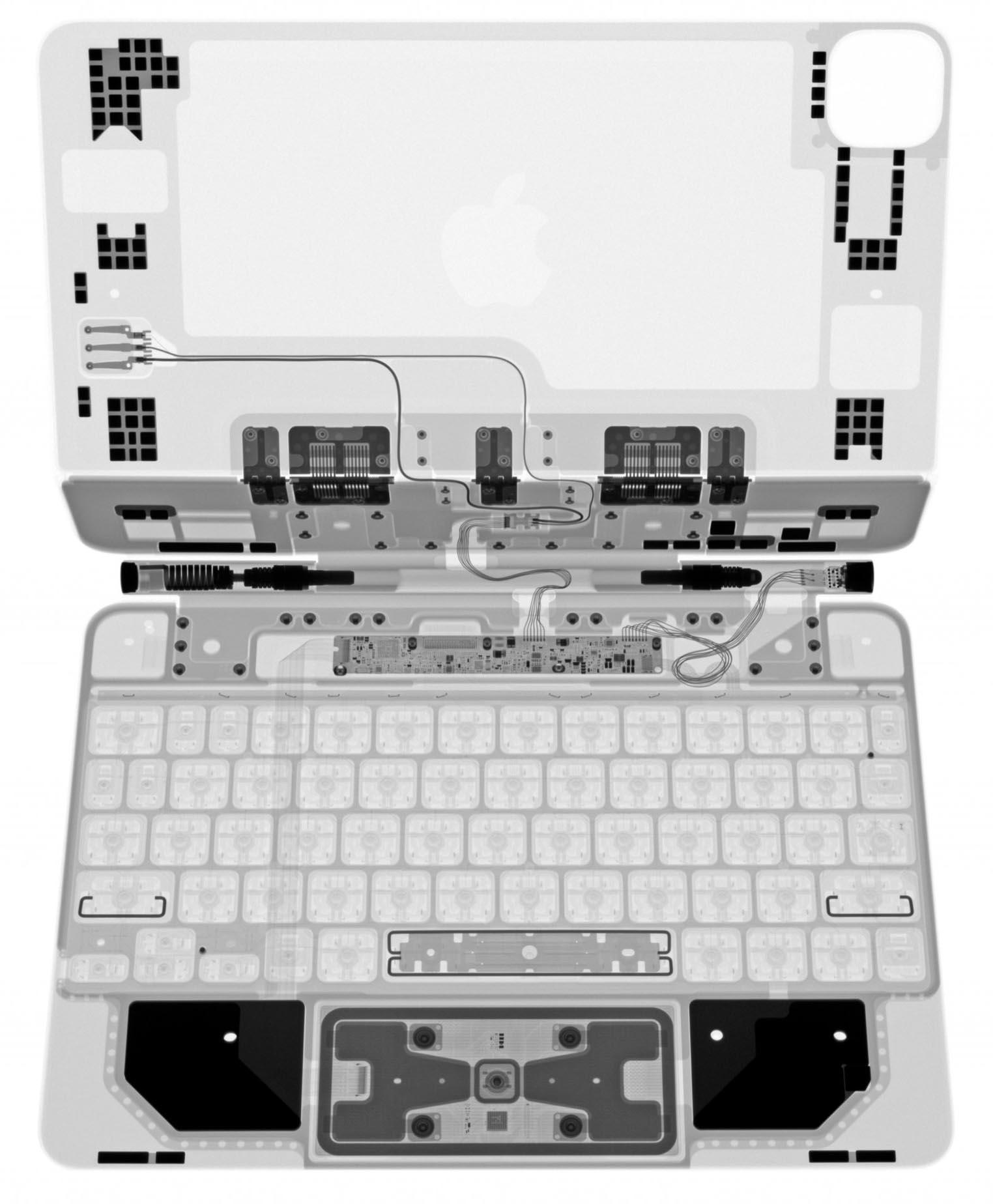 Magic Keyboard iPad Pro Rayons X