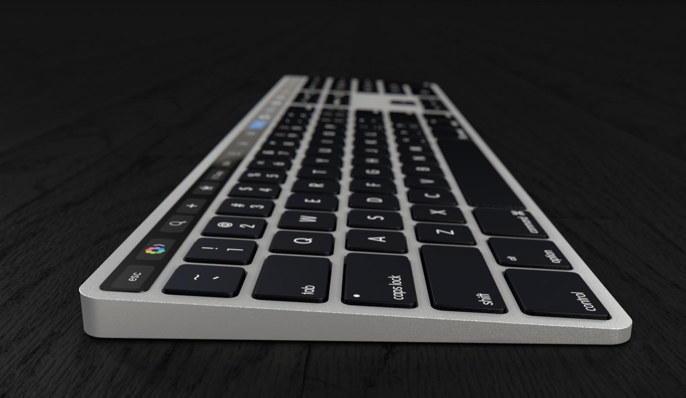 Magic Keyboard Touch Bar concept