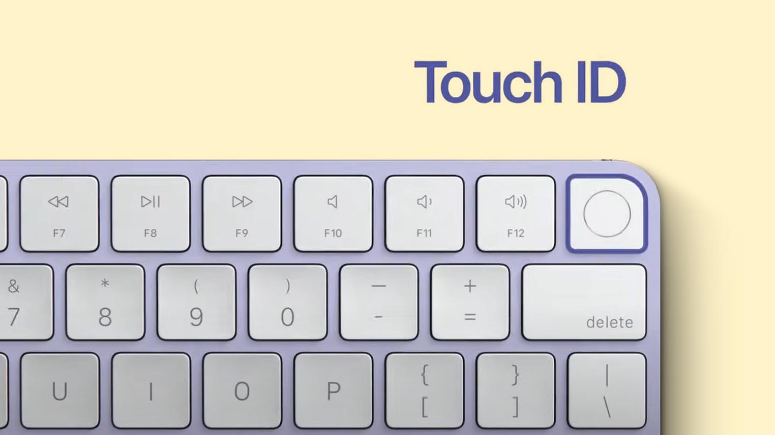Touch ID Magic Keyboard