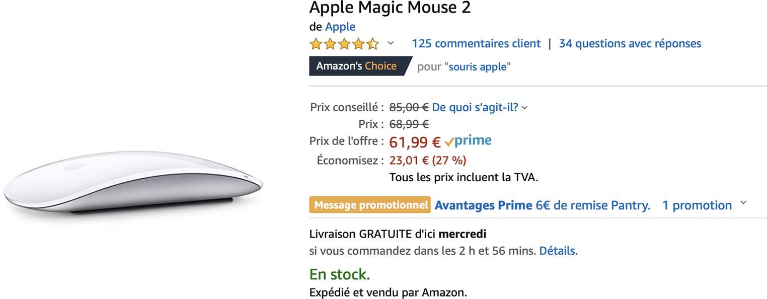 Magic Mouse 2 Amazon