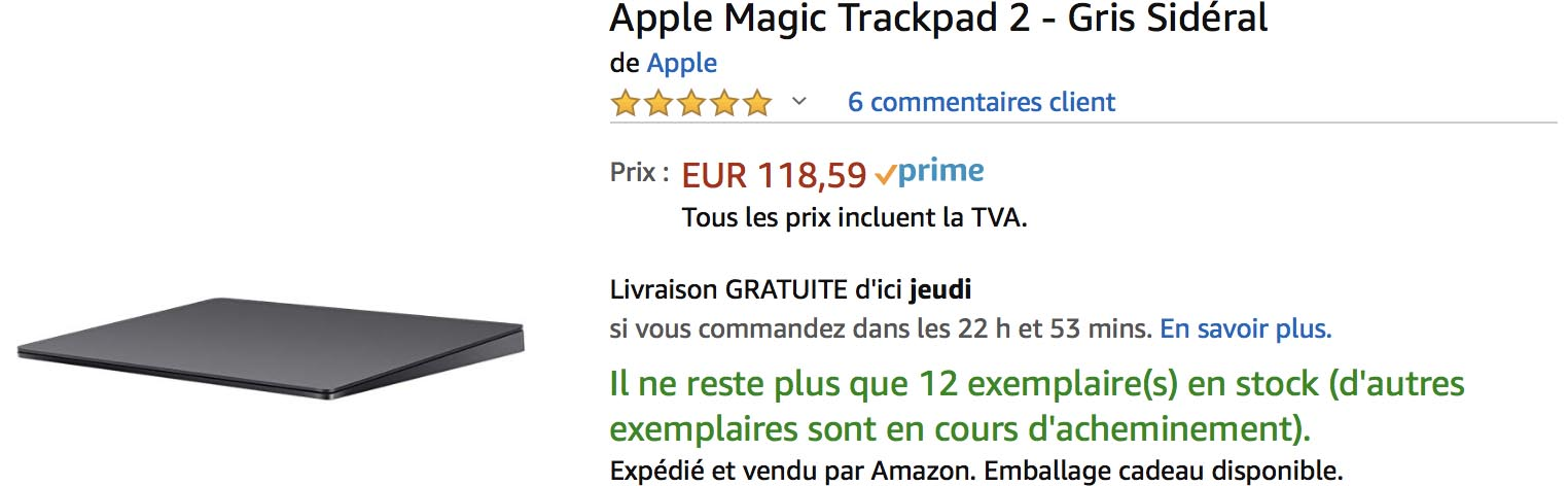 Magic Trackpad Amazon