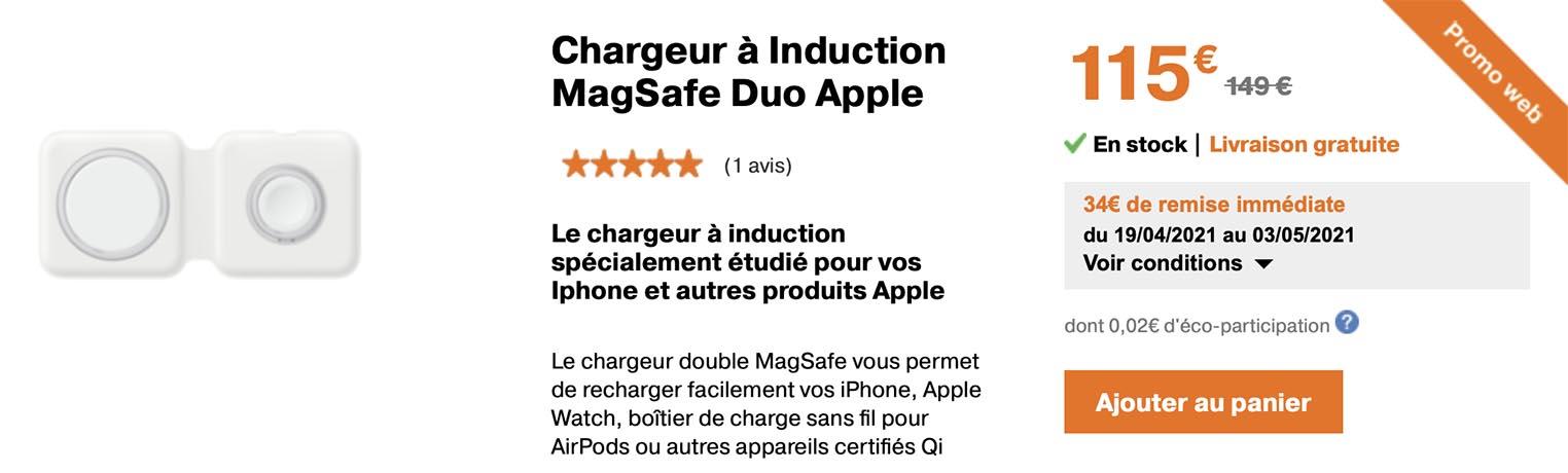MagSafe Duo Orange