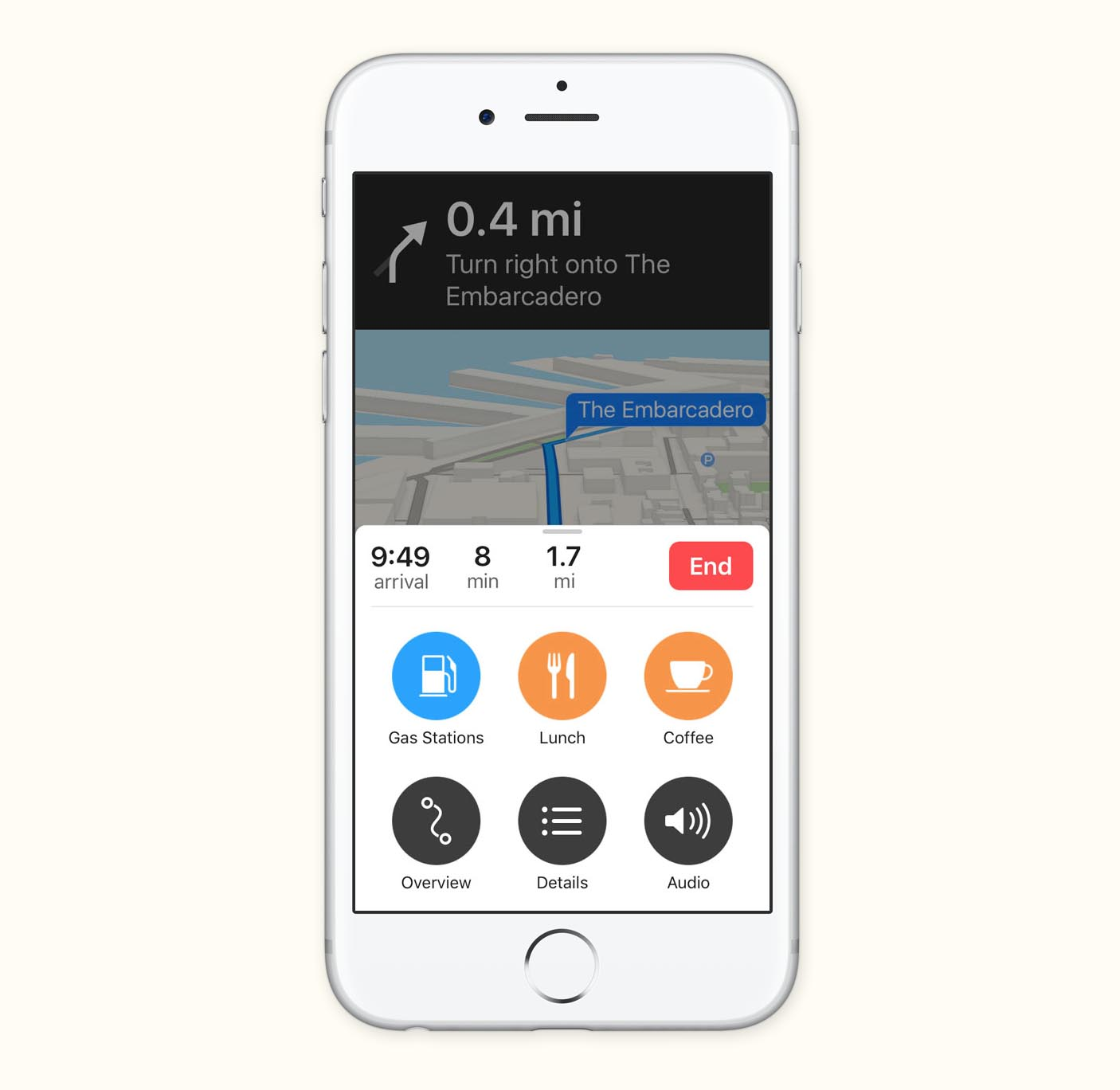 Maps iOS 10