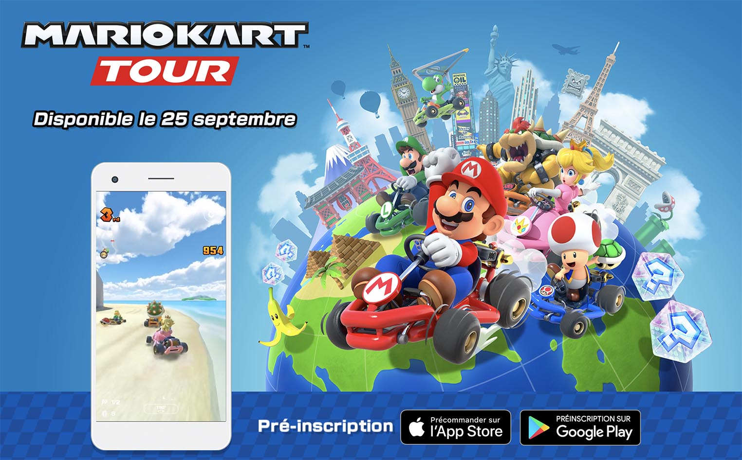 Mario Kart Tour iPhone