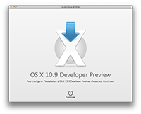 Mavericks Developer Preview