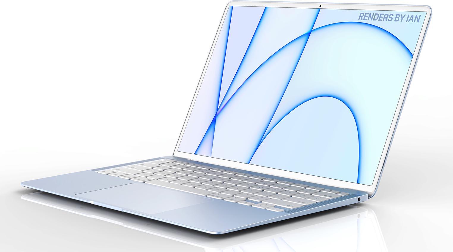 MacBook Air bleu