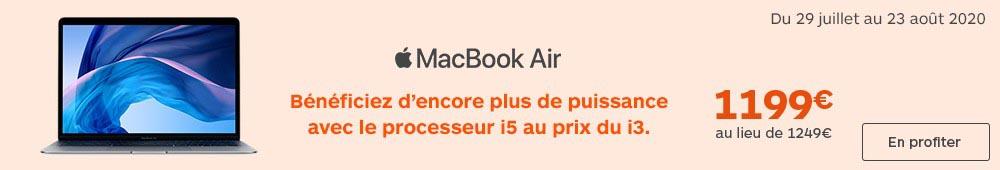MacBook Air Core i5 Boulanger