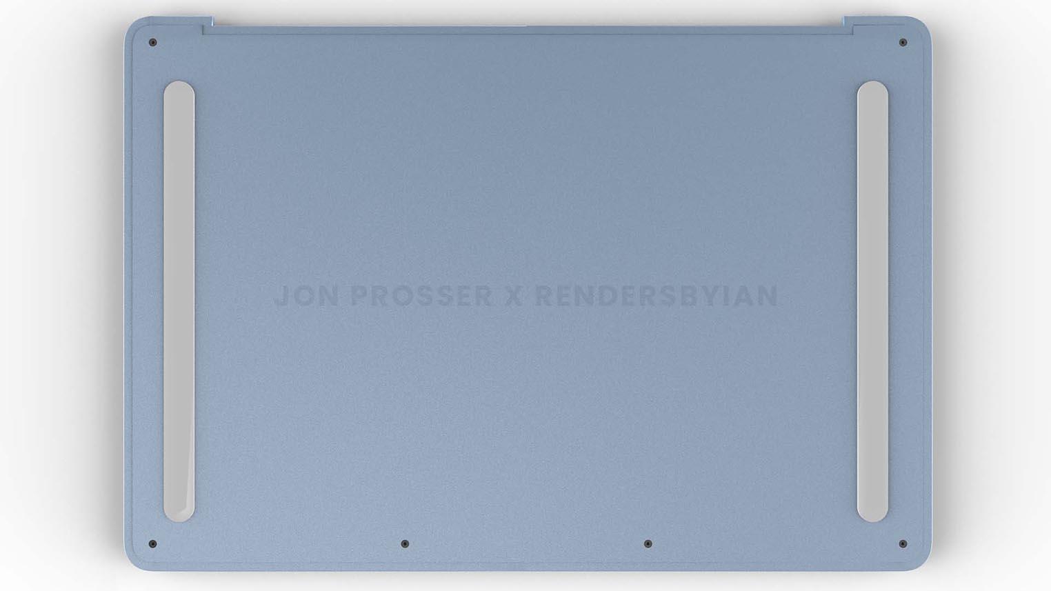 MacBook Air M2 rendu 3D
