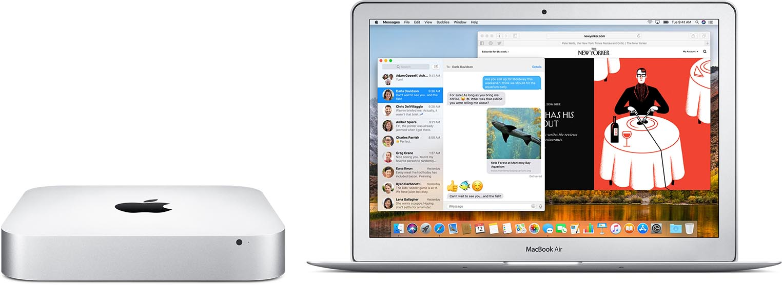 Mac mini MacBook Air
