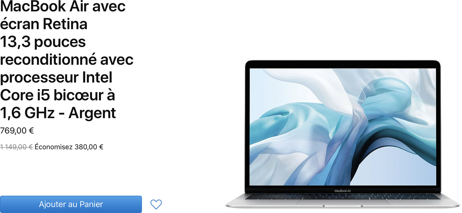 MacBook Air Refurb Store