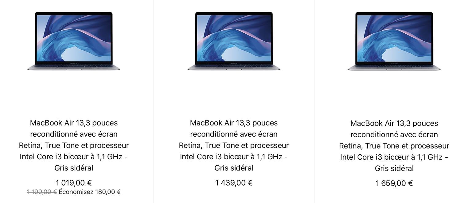 MacBook Air 2020 Refurb