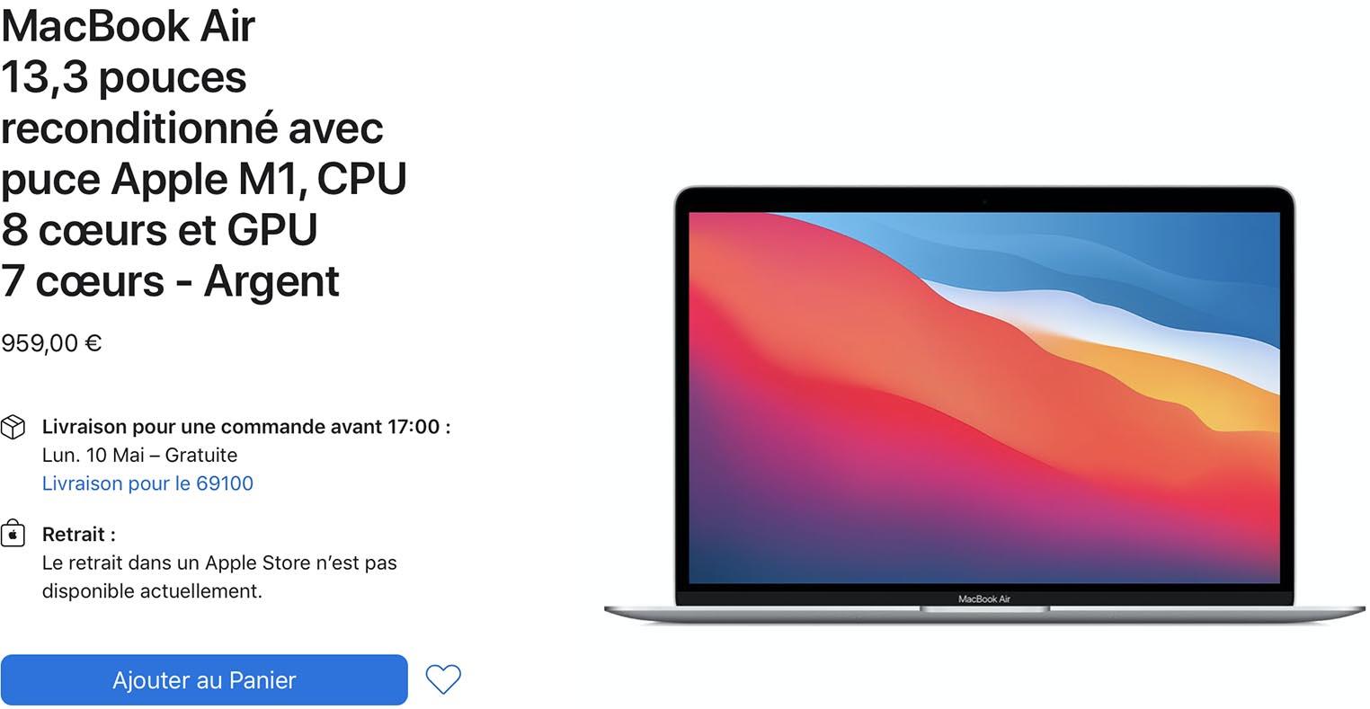 MacBook Air M1 Refurb Store