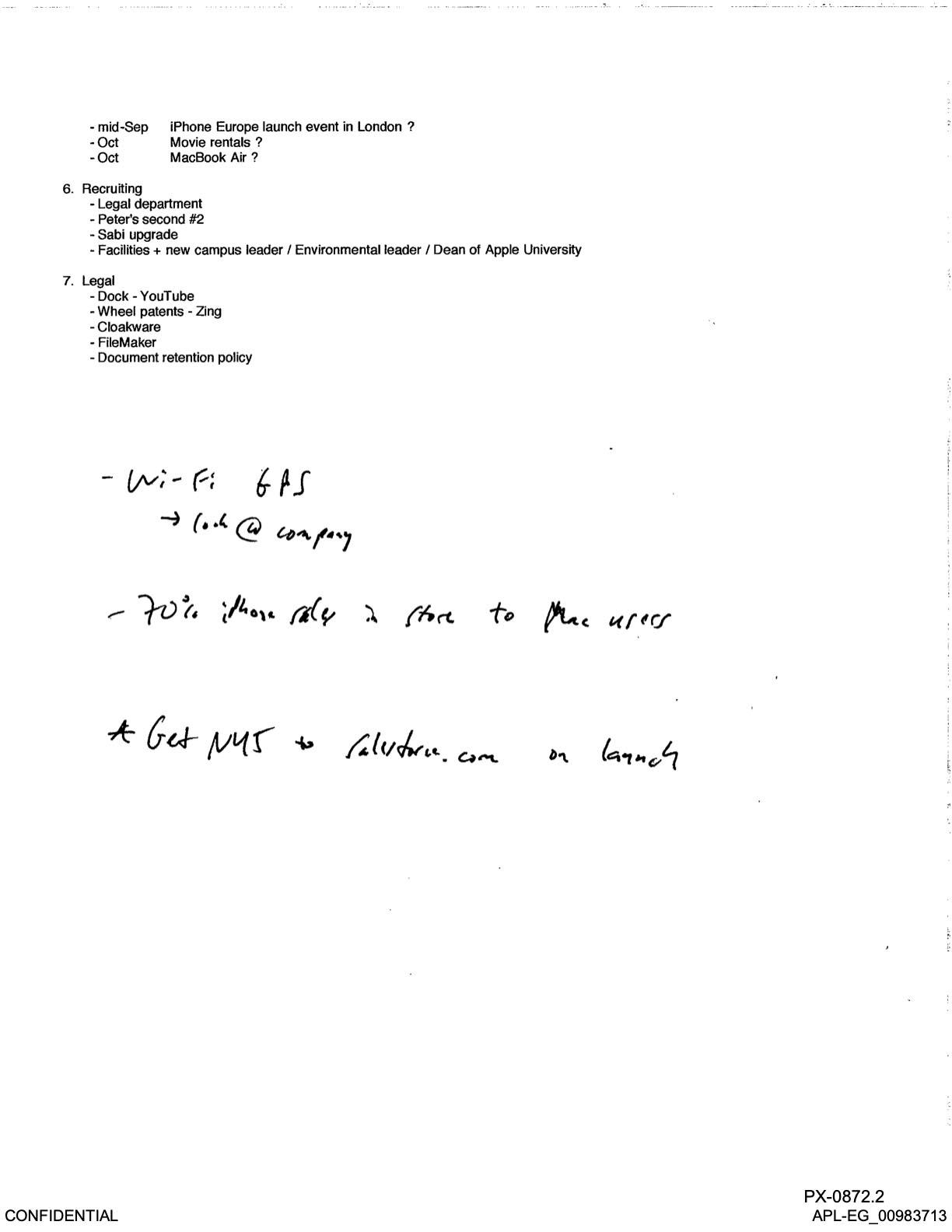 E-mail Steve Jobs MacBook Air 15 pouces