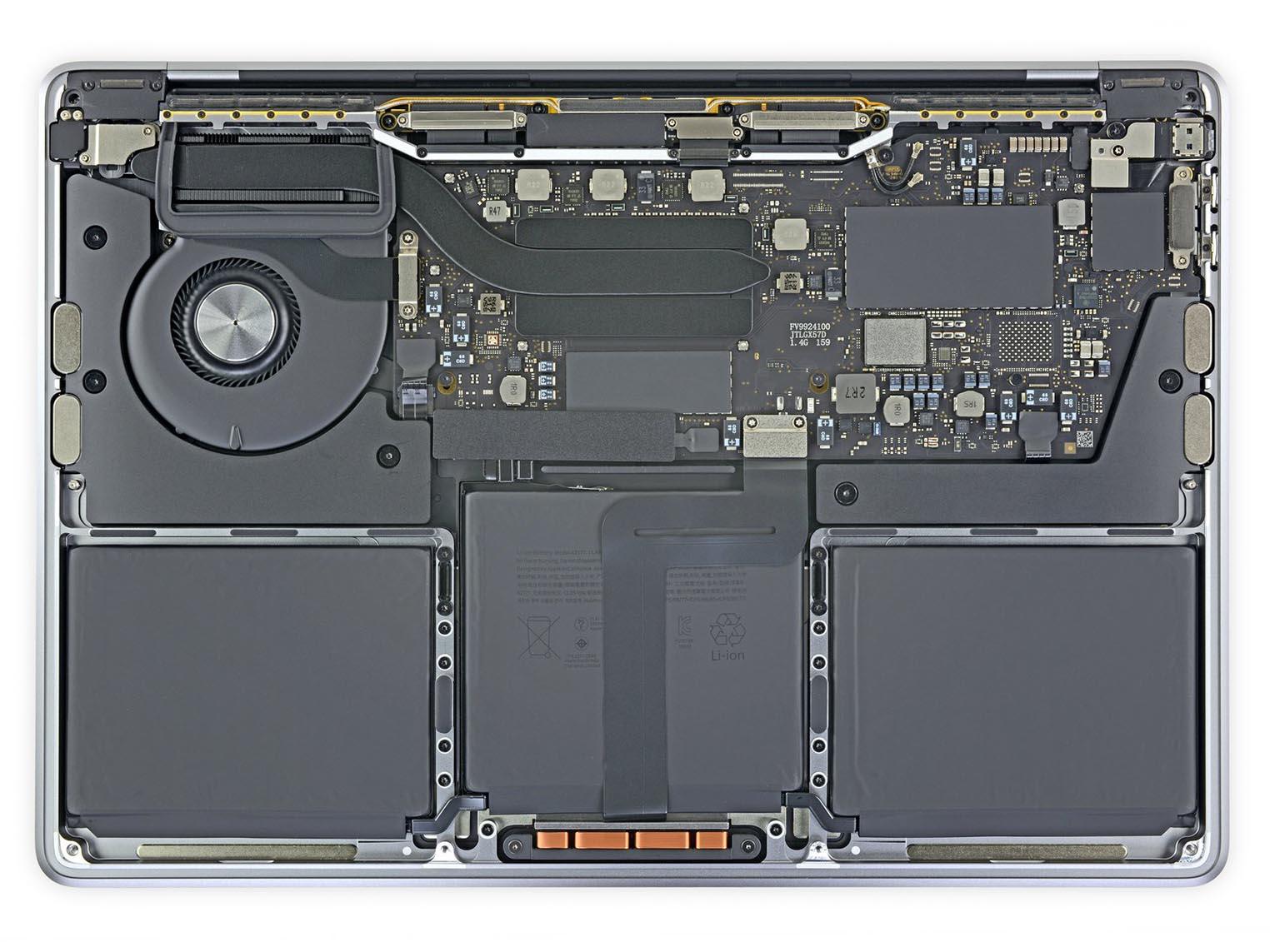 MacBook Pro 13 pouces 2019 iFixit