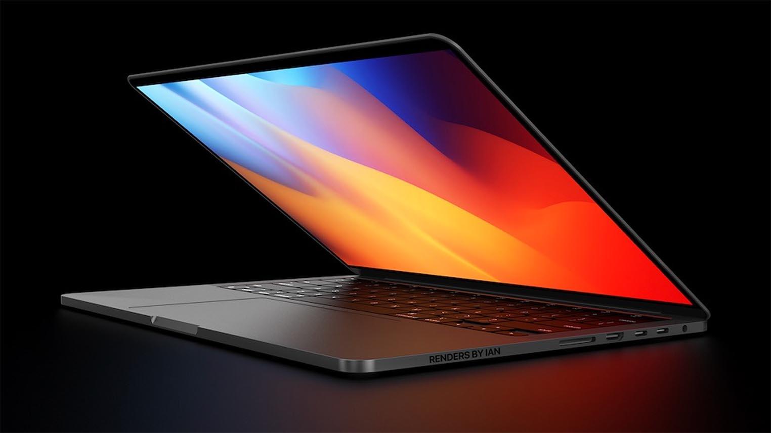MacBook Pro 14 pouces concept