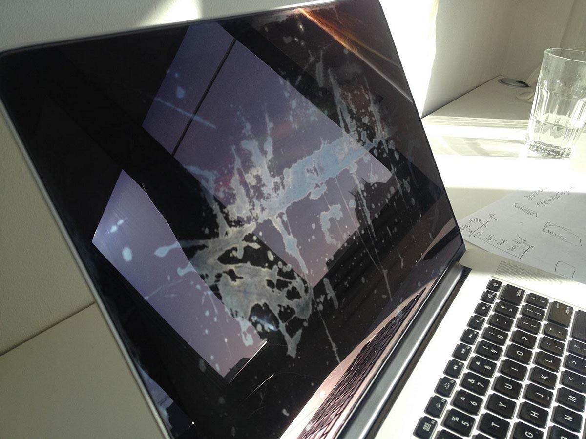 MacBook Pro anti-reflet défectueux
